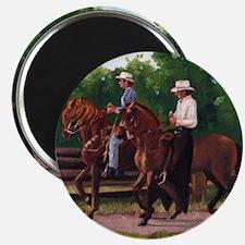 Paso Fino Horses Magnet