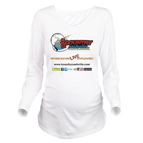 iCountryNashville.co Long Sleeve Maternity T-Shirt