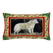 Canaan Dog Christmas Pillow Case