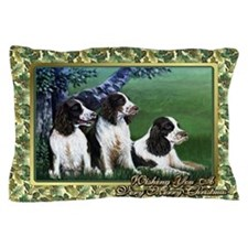 English Springer Spaniel Christmas Pillow Case