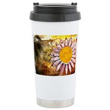 Artsy Floral Finesse Da Travel Coffee Mug