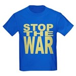 Stop The War Kids Dark T-Shirt