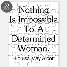 Nothing Is Impossible Inspirational Quote Puzzle