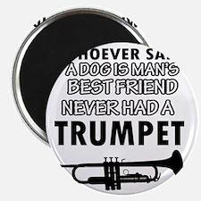 Trumpet Music Designs Magnet