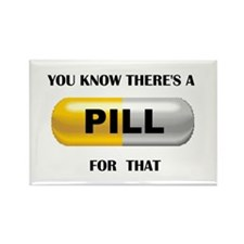 PILL Rectangle Magnet