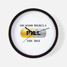 PILL Wall Clock