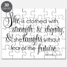 She is Clothed with Strength  Dignity Puzzle