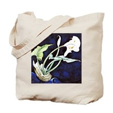 Calla Lilies, painting by Charles Demuth Tote Bag