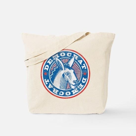 Vintage Democrat Tote Bag