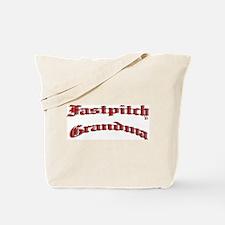 Fastpitch Grandma Tote Bag
