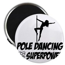 Pole Dancing designs Magnet