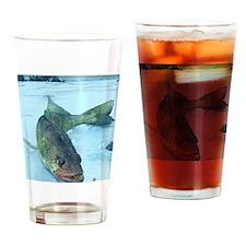 Walleye Ice Drinking Glass