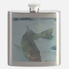 Walleye Ice Flask