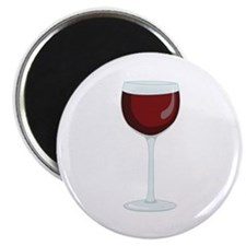 Red Wine Glass Magnets