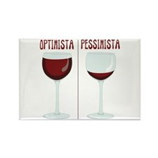 OPTIMISTA PESSIMISTA Magnets