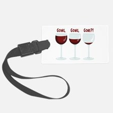 GOING, GOING, GONE?! Luggage Tag