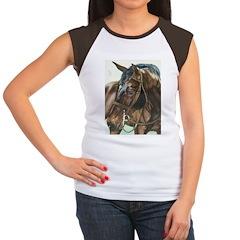 Ty Women's Cap Sleeve T-Shirt
