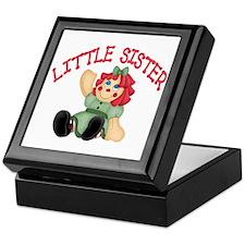 Raggedy Ann Little Sister Keepsake Box