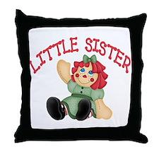 Raggedy Ann Little Sister Throw Pillow