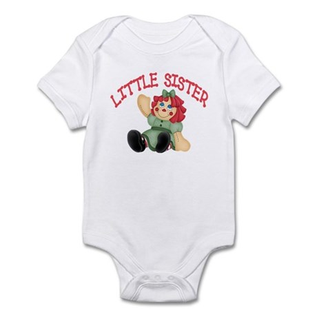 Raggedy Ann Little Sister Infant Bodysuit