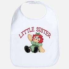 Raggedy Ann Little Sister Bib