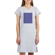 Navy Yellow Blue Women's Nightshirt