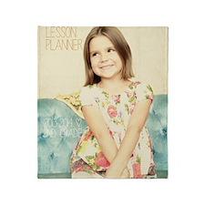 Anya Lesson Planner 2013-2014 Throw Blanket
