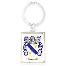 Needham Coat of Arms (Family Cre Portrait Keychain