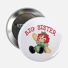 Raggedy Ann Big Sister Button