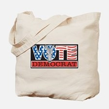 Vote Dem Donkey Tote Bag