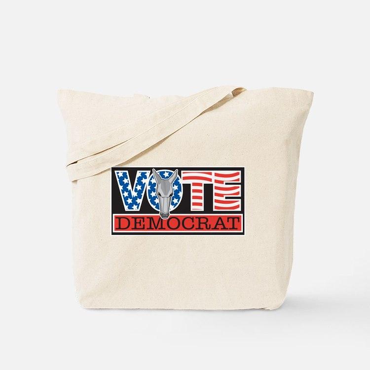 Vote Dem Donkey Tote Bag