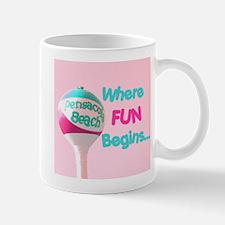 Pensacola Beach Ball Mug
