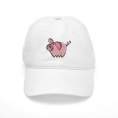 Cute Pig Baseball Cap
