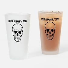 Custom Skull Drinking Glass