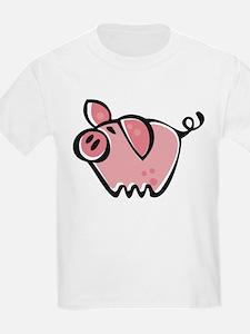 Cute Cartoon Pig T-Shirt