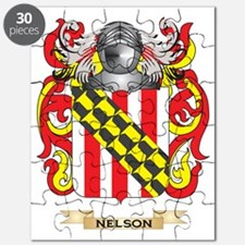 Nelson (ireland) Coat of Arms (Family Crest Puzzle