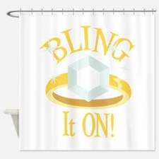 BLING It ON! Shower Curtain