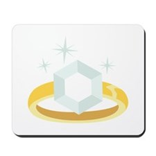 Diamond Engagement Ring Mousepad