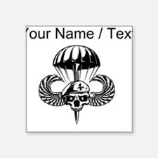 Custom Paratrooper Skull Sticker