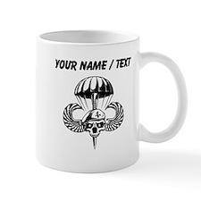 Custom Paratrooper Skull Mugs