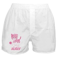 Kitten Big Sister Boxer Shorts