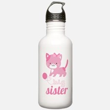 Kitten Big Sister Water Bottle