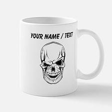 Custom Winking Skull Mugs