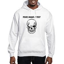 Custom Winking Skull Hoodie
