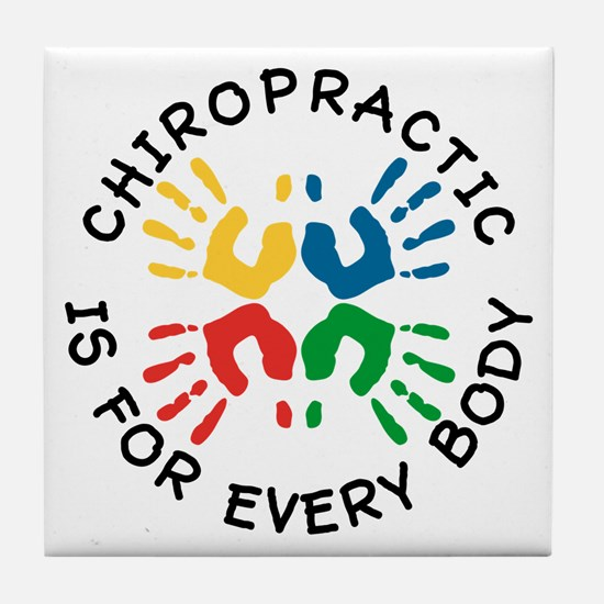 Chiro Is For Every Body Tile Coaster