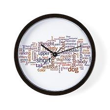 Cute Standard Wall Clock
