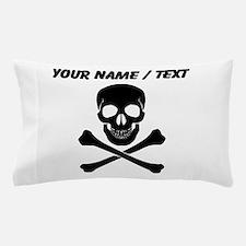 Custom Skull And Crossbones Pillow Case