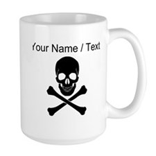 Custom Skull And Crossbones Mugs