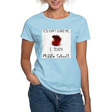 no scare middle school teacher T-Shirt