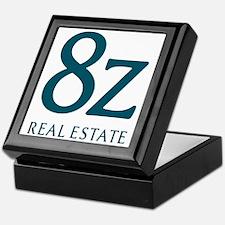 8z Real Estate Logo Keepsake Box